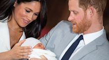 Meghan and Harry's son Archie is a 'happy baby with tufts of red hair'