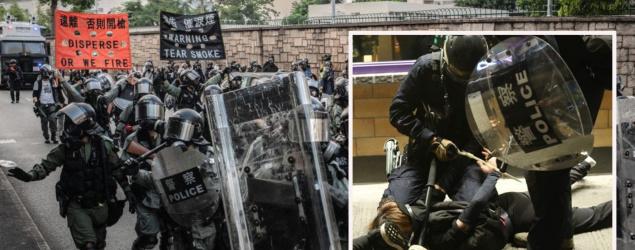 修例風波:特赦組織斥警施過分武力 有示威者留院一周