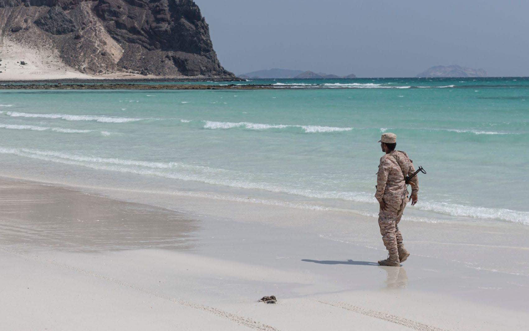'Welcome to Yemen': Former al-Qaeda haven builds beach resort in hope of attracting tourists despite civil war