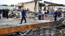 """Etats-Unis : en visite à Kenosha, Donald Trump assimile les manifestations violentes à du """"terrorisme intérieur"""""""