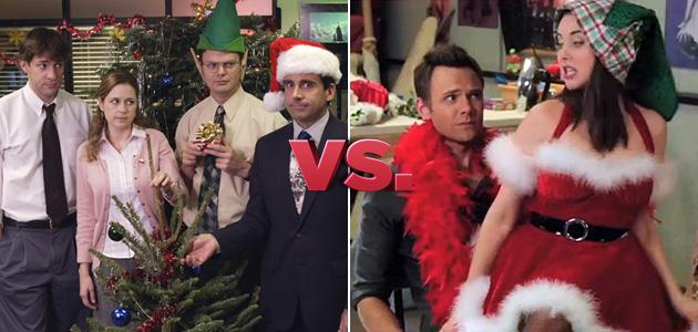 The Office, 'Christmas Party' vs