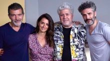 Penélope Cruz retoma el look de Volver en la primera foto del rodaje de Dolor y Gloria