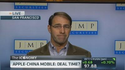 Apple-China Mobile: Deal time?