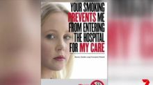 Sydney hospital's campaign to stop smokers