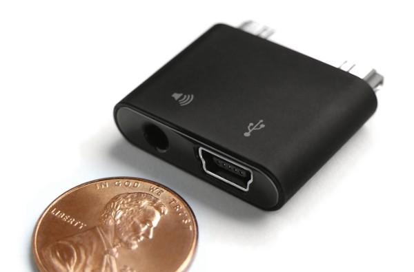 SendStation's latest PocketDock is slightly larger than a penny, has much better audio quality than a dime