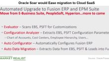 How Oracle's Soar Could Increase Migration to the Cloud