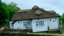 Couple forced to flee £850k Norfolk Broads cottage that started to sink overnight