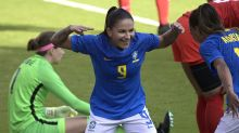 Debinha, Julia score and Brazil downs Canada 2-0