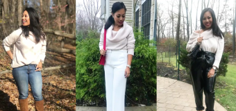 How a fashion influencer dresses for Thanksgiving