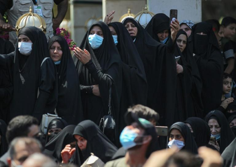 Iraqi Shiite Muslims took part in a more subdued Ashura gatherings due to virus restrictions