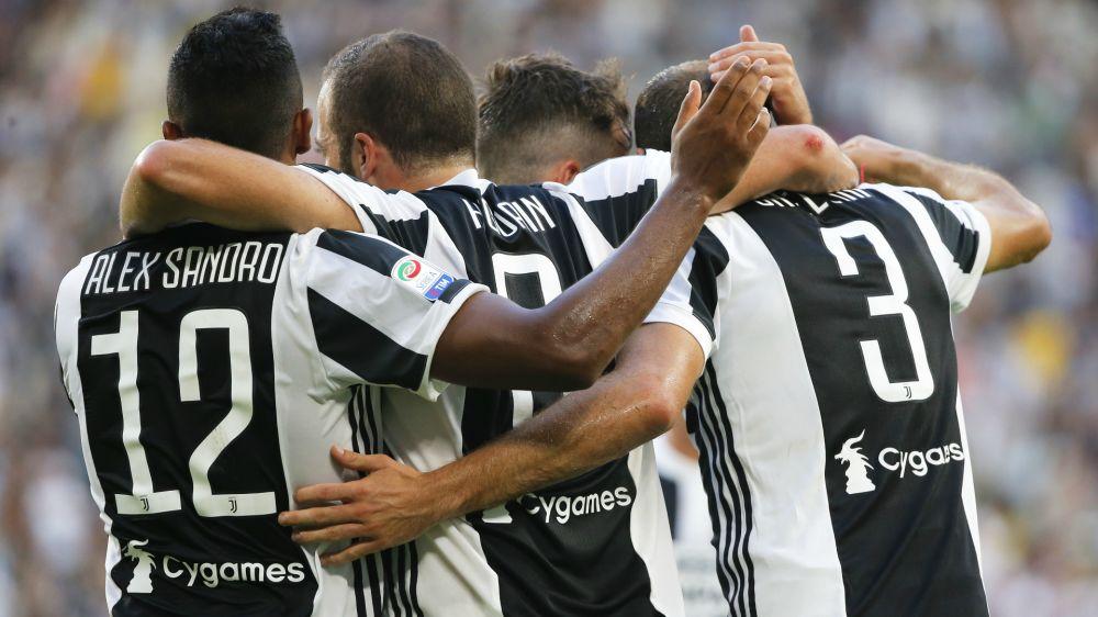 Classifica Serie A 2017/18 - Juventus a punteggio pieno, Benevento ultimo