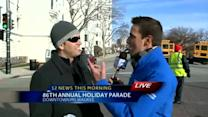 Patrick, Matt, Kidd & Elizabeth to ride in Holiday Parade