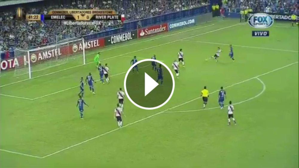 VIDEO: ¡Llegó el empate! Moreira marcó su primer gol en River