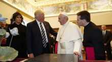 Pope asks Trump to be peacemaker, gives him environmental letter