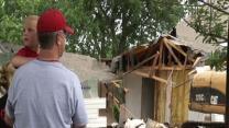 West, Texas Church Rises As Homes Come Down