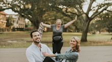 Amy Schumer Crashing This Couple's Engagement Shoot Is Extremely On Brand