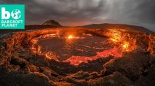Lava lake in pictures: Photographer gets dangerously close