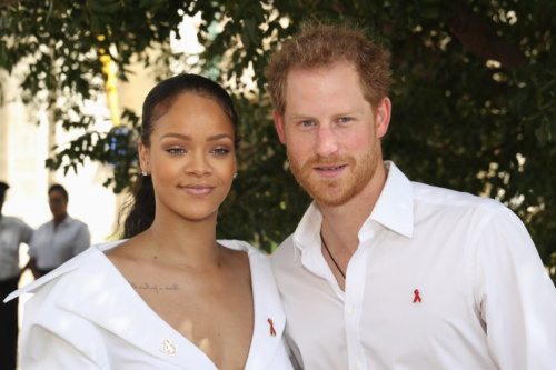 Prince Harry met up with Rihanna on three occasions while in Barbados [Photo: Getty]