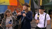 Catching up with The Lumineers live on 'GMA'
