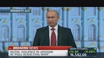 Putin blames Ukraine for gas supply pressure