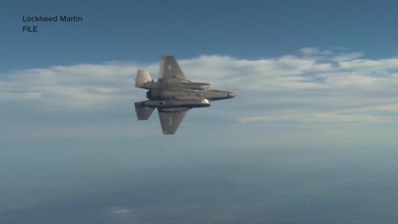 US military grounds entire fleet of F-35s in wake of crash