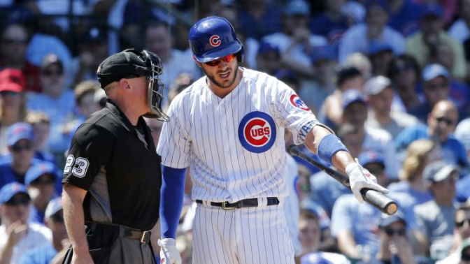 Kris Bryant ejection leads to more drama