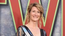 Laura Dern wore a Laura Dern T-shirt, like the meme dream that she is
