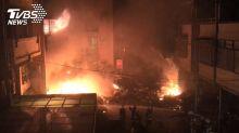 東海大學商圈民宅氣爆!惡火延燒對街釀4死 持續搜救中