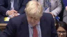 SNP MP angrily brands Boris Johnson 'desperate liar' as PM criticises party's record in Scotland