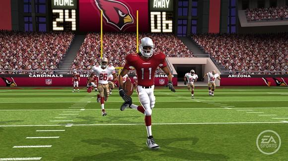 Madden NFL 10 on Wii features 'genre-defining art style'