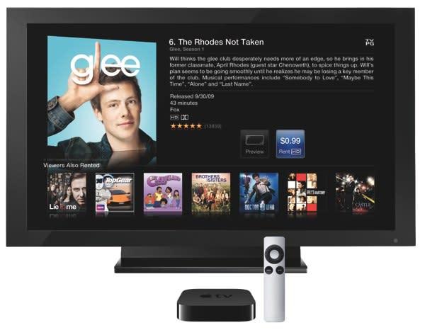 Apple TV update displays smart device info through HomeKit