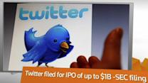 Factbox: Twitter files for up to $1bln IPO