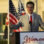 "Rep. Matt Gaetz declares he's ""not going anywhere"" amid sex trafficking probe"