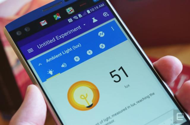 Google Science Journal studies the world through your phone