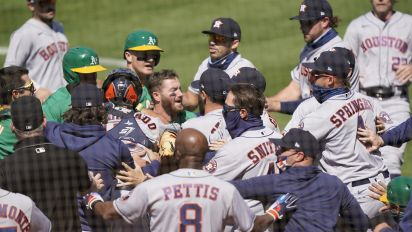20 games for Astros coach who instigated brawl