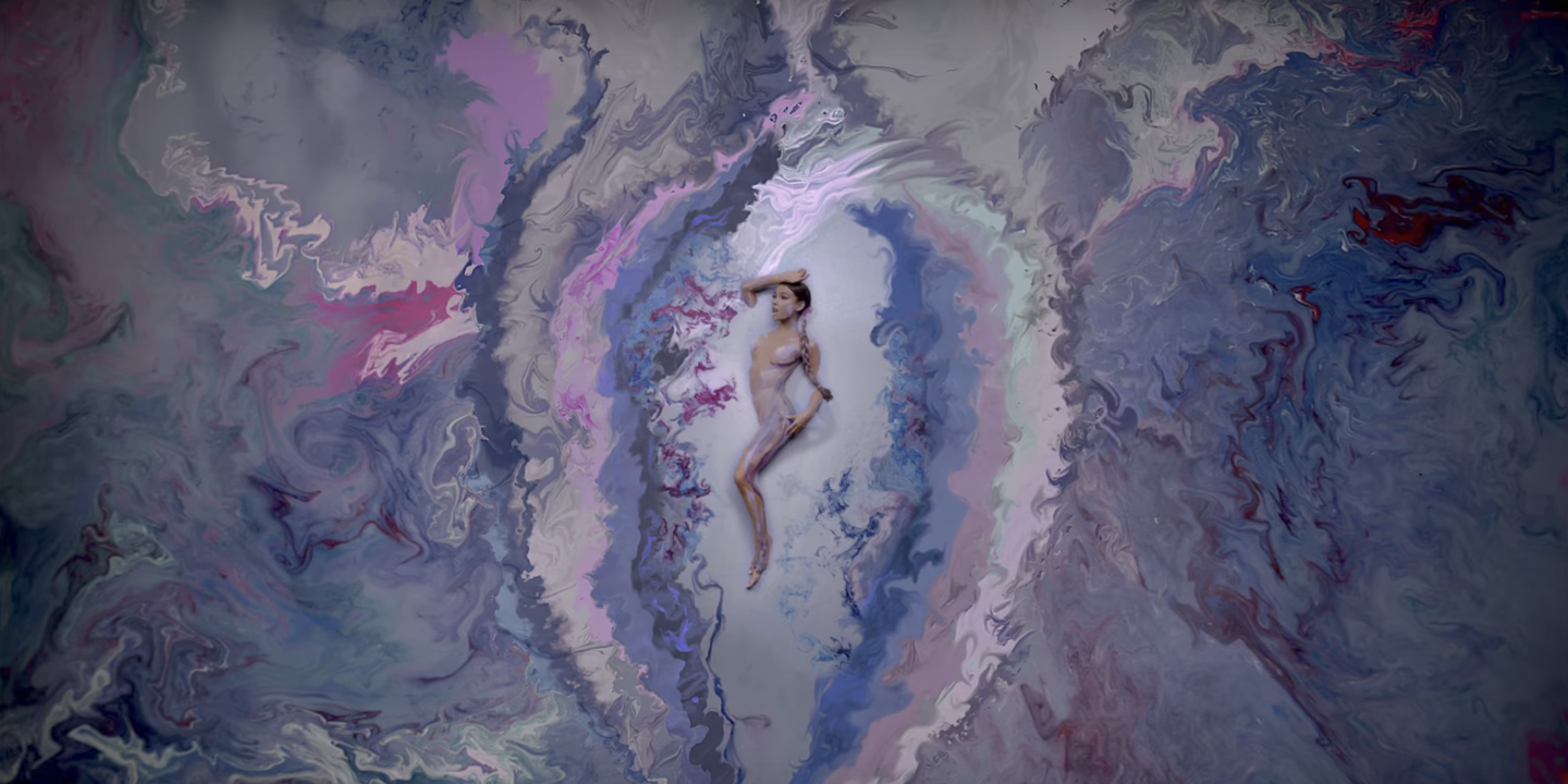 What It Was Like Body Painting A Naked Ariana Grande For Her God Is A Woman Music Video