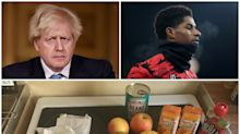 Marcus Rashford reveals Boris Johnson has promised to fix 'unacceptable' free school meals in private phone call