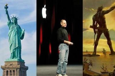No comment: 'Let's build a statue of Steve Jobs'