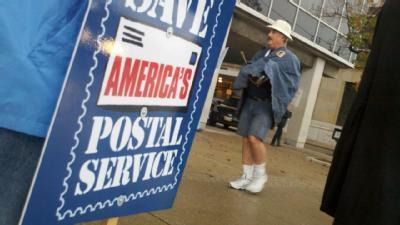 Postal Workers Hold Protest Over Possible Closure
