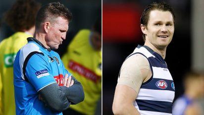 Patrick Dangerfield bites back at Nathan Buckley