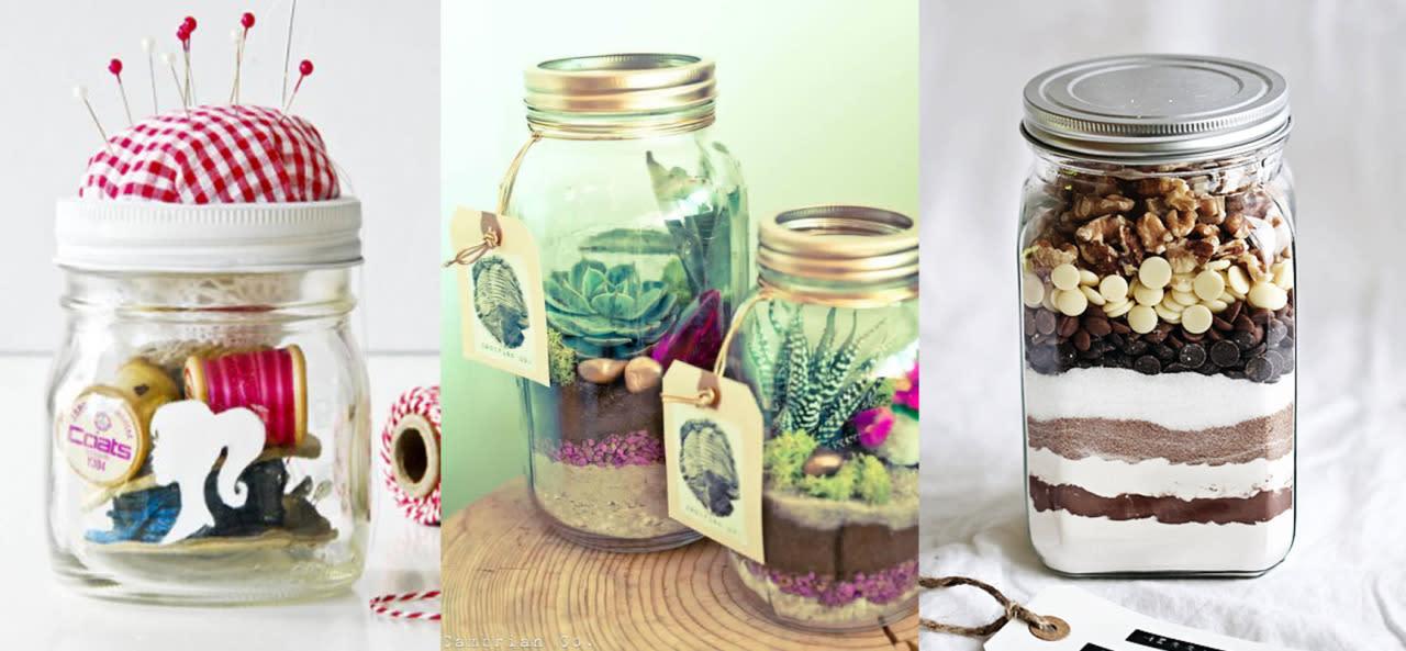 18 Geschenke im Einmachglas für den kleinen Geldbeutel