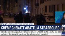 """VIDEO.Mort de Chérif Chekatt : BFM TV reconnaît une """"erreur de manipulation"""" après avoir diffusé le titre """"I shot the sheriff"""" lors d'une édition..."""