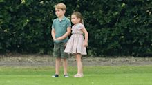 Prince George and Princess Charlotte Were Spotted Out at a Local Festival With Carole Middleton