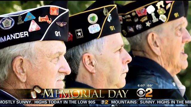 Fallen Heroes Honored At Memorial Day Events Across Southland