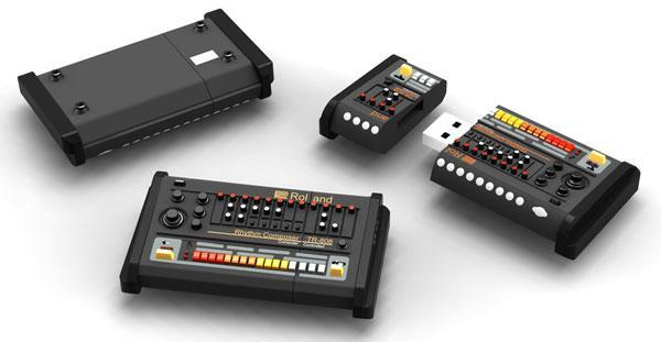 This 'TR-808' flash drive takes style cues from Roland (video)