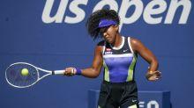 Naomi Osaka toils to overcome Marta Kostyuk at US Open in three sets