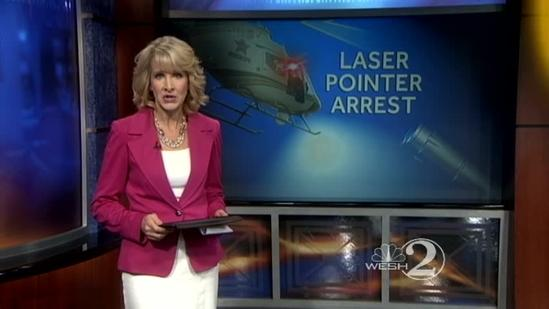 Deputies accuse teen of pointing laser at helicopter