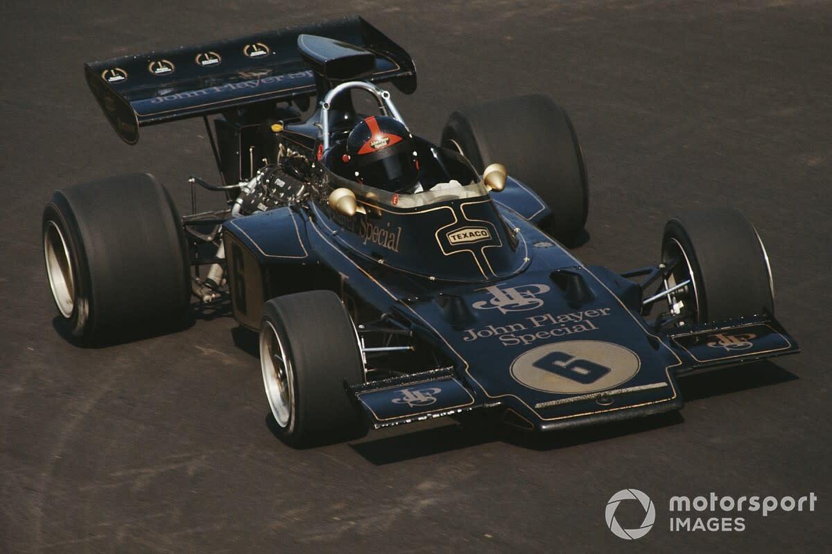 Emerson Fittipaldi on the 1972 Italian GP