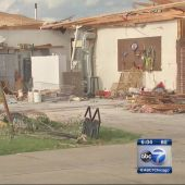 Residents clean up after tornadoes cause damage in Indiana, Ohio