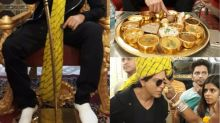 Shah Rukh Khan gorges on Rajasthani cuisine in Jaipur during Jab Harry Met Sejal promotions